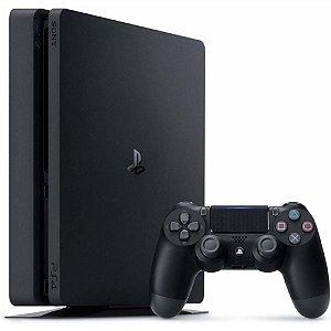Console Playstation 4 Mega Pack 12 + 3 Jogos + PSN Plus