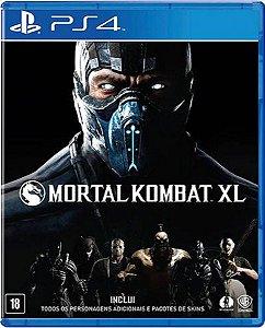 Jogo Mortal Kombat XL - Ps4 Mídia Física Usado