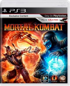 Jogo Mortal Kombat  - Ps3 Mídia Física Usado