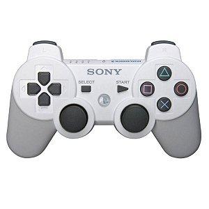 Controle Original Sony Branco - Ps3 Usado