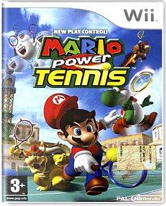 Jogo Mario Power Tennis - Nintendo Wii Física Usado