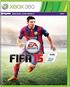 Jogo Fifa 15 - Xbox 360 Mídia Física Usado