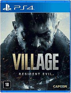 Jogo Resident Evil Village - Ps4 Mídia Física
