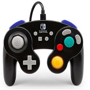 Controle Nintendo Switch Game Cube Preto - PowerA