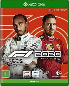 Jogo Formula 1 2020 - Xbox One Mídia Física Usado