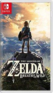 Jogo The Legend Of Zelda Breath Of The Wild Switch Usado