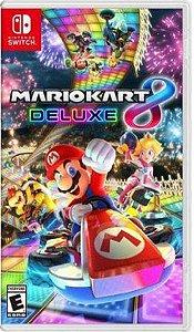Jogo Mario Kart 8 Deluxe - Nintendo Switch Usado