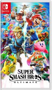 Jogo Super Smash Bros Ultimate - Nintendo Switch Usado
