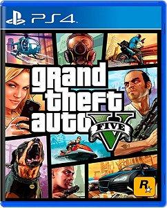 Jogo GTA V (Edição Cero) - Ps4 Mídia Física Usado