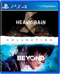Jogo Collection Heavy Rain + Beyond - Ps4 Mídia Física Usado