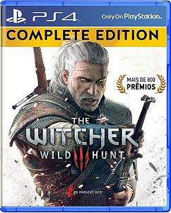 Jogo The Witcher III Wild Hunt Edição Completa - Ps4 Usado