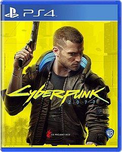 Jogo Cyberpunk 2077 - PS4 Mídia Física Usado