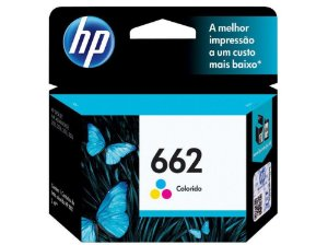 CARTUCHO HP 662 3ML - COLOR