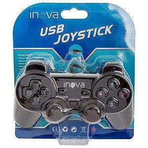 Controle Joystick USB Com Fio para PC Inova - CON-203Z