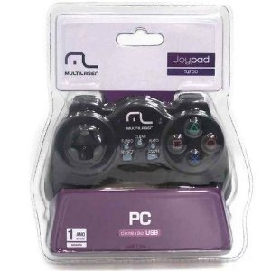 Controle Para Pc Notebook Joystick Turbo Usb Multilaser