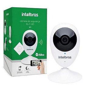 Câmera Ip Wifi Sem Fio Intelbras Mibo Ic3 Hd 720p Com Áudio