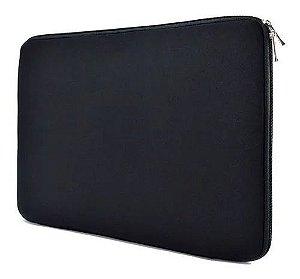 Capa Case Luva Preta Slin P/ Notebook 15,6  e 14.0