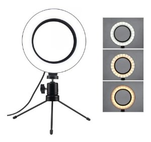 Ring Light 6 Polegadas 36 Led Usb Led Misto Mesa