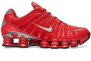 Nike TL 12 Molas Vermelho e cinza