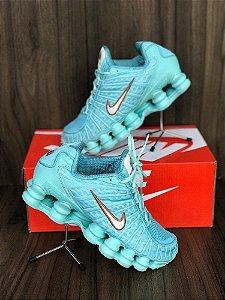 Nike TL 12 molas Azul e branco
