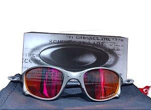 Óculos Oakley Juliet 24k Lente Rubi