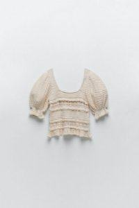 Blusa de Tricot Crochet