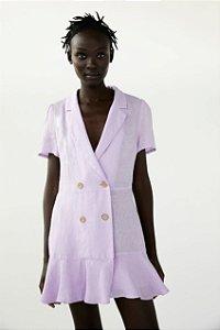 Vestido Blazer Linho