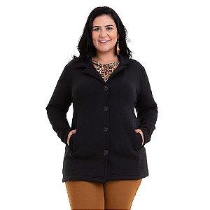 Casaco Feminino Soft Plus Size