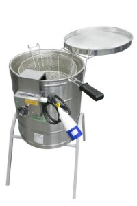 Fritadeira elétrica  34L água e óleo ECCEL FIEE-34