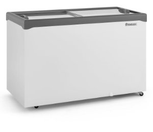 Conservador / Refrigerador Horizontal Vidro Reto Deslizante 413L GELOPAR GHDE-410