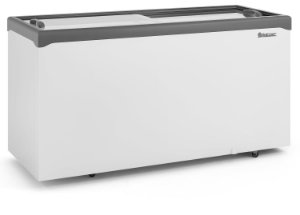 Conservador / Refrigerador Horizontal Vidro Reto Deslizante 534L GELOPAR GHDE-510