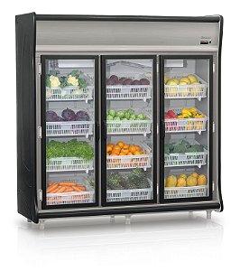 Refrigerador Vertical Auto Serviço Hortifrutícola 3 portas GELOPAR GEHF-3P