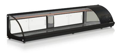 Vitrine Refrigerada de Bancada para Sushi 2,10m GELOPAR GVRB-210 PR