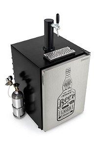 Chopeira Refrigerador para Barril Kegerator 170 Litros Gelopar GRKG-170ITA