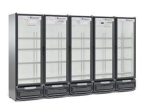 Refrigerador Vertical Conveniência 2492L GELOPAR GCVR-2500