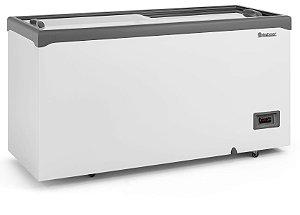 Conservador Horizontal Vidro Reto Deslizante Controlador Eletrônico e Iluminação 413L GELOPAR GHD-41 E LC