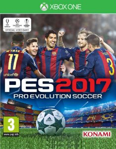 PES 2017: Pro Evolution Soccer - Xbox One - Mídia Digital