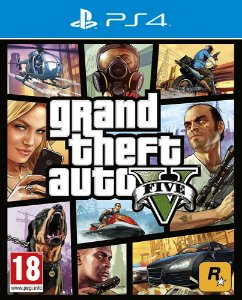 Grand Theft Auto V - PS4 - Mídia Digital