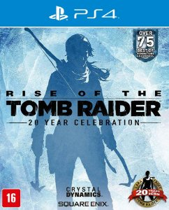 Rise of the Tomb Raider - PS4 - Mídia Digital