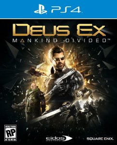 Deus Ex: Mankind Divided - PS4 - Mídia Digital