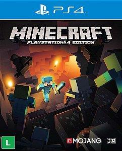 Minecraft - PS4 - Mídia Digital