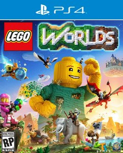 LEGO Worlds - PS4 - Mídia Digital