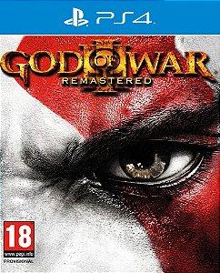 God of War III Remastered - PS4 - Mídia Digital