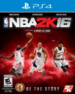 NBA 2K16 - PS4 - Mídia Digital