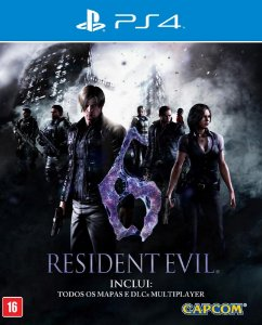 Resident Evil 6 - PS4 - Mídia Digital