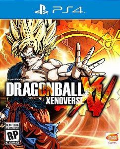 Dragon Ball Xenoverse - PS4 - Mídia Digital