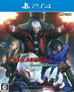 Devil May Cry 4: Special Edition - PS4 - Mídia Digital