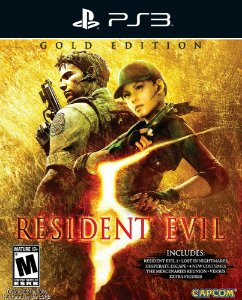 Resident Evil 5 - PS3 - Mídia Digital