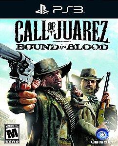 Call of Juarez: Bound in Blood - Ps3 - Mídia Digital