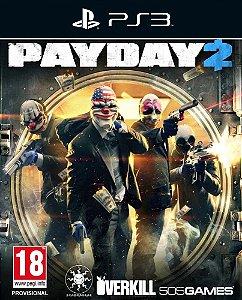 Payday 2 - Ps3 - Mídia Digital
